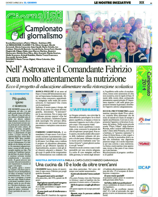 [G-MET - XIX]  GIORNO/GIORNALE/MET/61 … 03/04/14