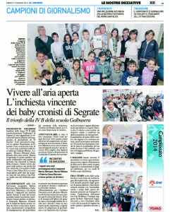 [G-MET - XIX]  GIORNO/GIORNALE/MET/04 ... 17/05/14